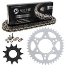 Drive Chain and Sprocket Kit for Polaris 12822591195196 Trail-Boss 519-KCS1022K-K001 NICHE MK1004550