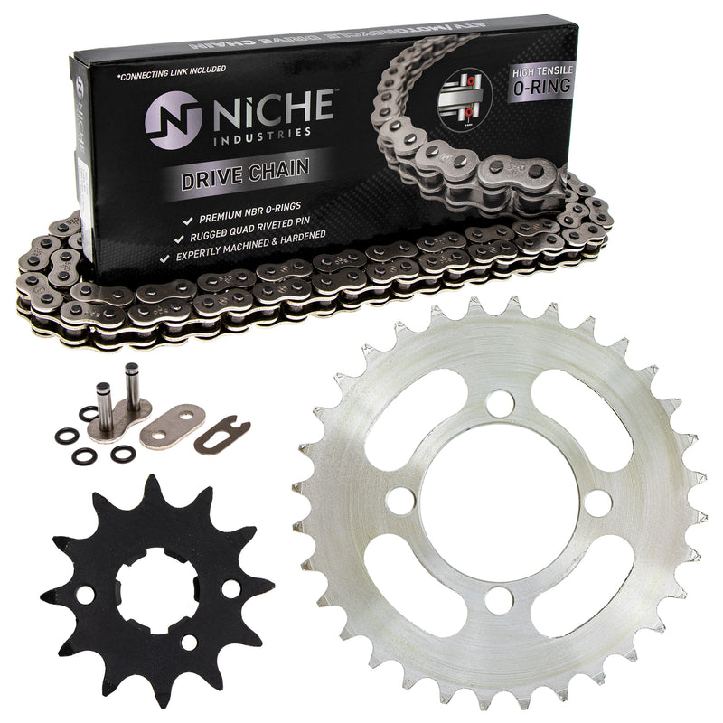 Drive Chain and Sprocket Kit for zOTHER Grizzly Breeze 519-KCS1028K-K001 NICHE MK1004556