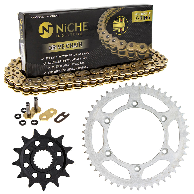 Drive Chain and Sprocket Kit for Yamaha YZ250F YZ125 NICHE MK52011232