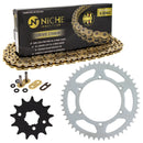 Drive Chain and Sprocket Kit for na Kawasaki KX250 42041-1104 13144-1027 42041-1384 NICHE MK1004641