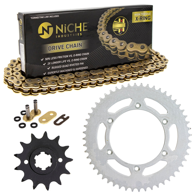 Drive Chain and Sprocket Kit for Suzuki RS250 NICHE MK52011433