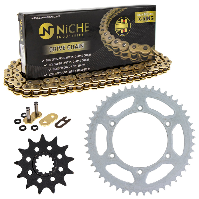 Drive Chain and Sprocket Kit for Suzuki RM250 NICHE MK52011438