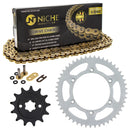 Drive Chain and Sprocket Kit for zOTHER Yamaha Honda TTR230 93832-13164-00 40530-KCY-652 NICHE MK1004784
