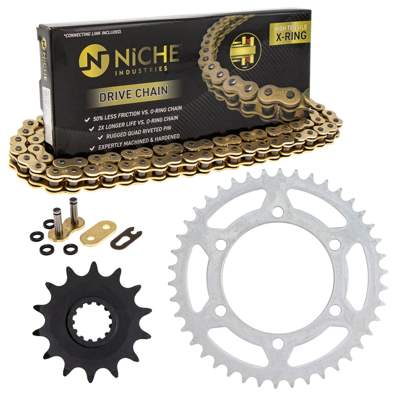 Drive Chain and Sprocket Kit for 238999882 234874101 219126423 218999940 210773137 NICHE MK52010611