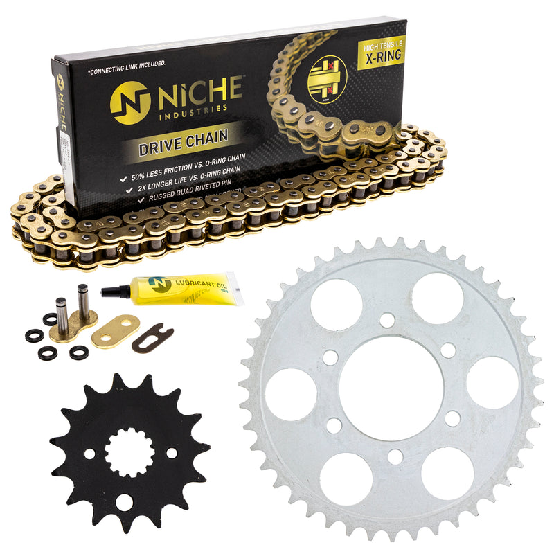 Drive Chain and Sprocket Kit for 164851538 164834993 164791246 164786869 RF900R NICHE MK53011001