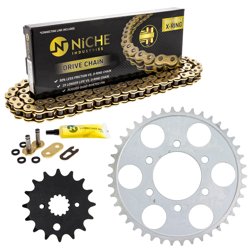 Drive Chain and Sprocket Kit for zOTHER 519-KCS1340K-K001 NICHE MK1004868