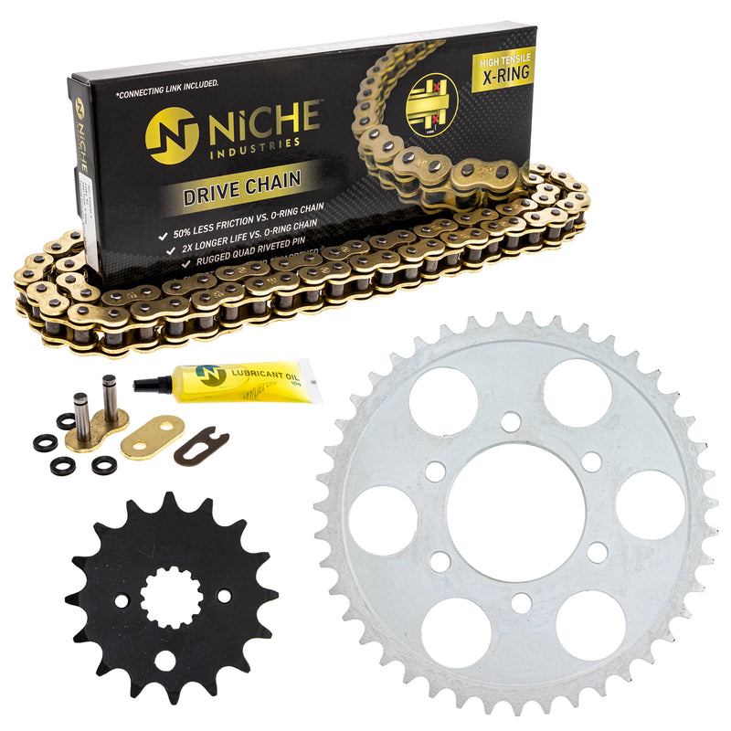 Drive Chain and Sprocket Kit for zOTHER 519-KCS1341K-K001 NICHE MK1004869