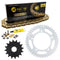 Drive Chain and Sprocket Kit for Suzuki na GSXR600X GSXR600 519-KCS1345K-K001 NICHE MK1004873