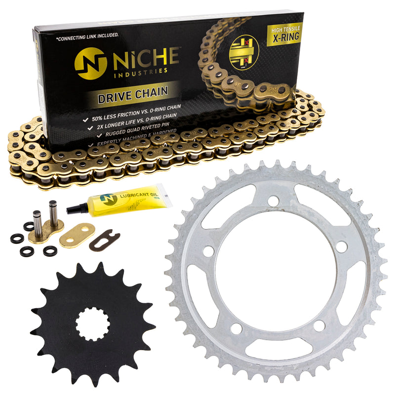 Drive Chain and Sprocket Kit for zOTHER GSXR1000 519-KCS1350K-K001 NICHE MK1004878