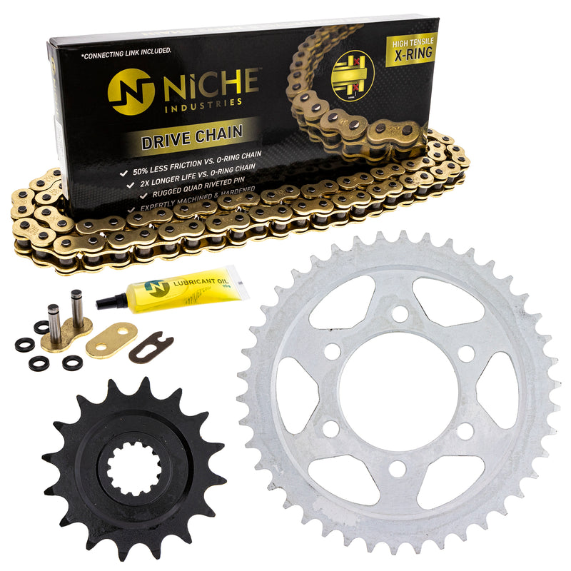 Drive Chain and Sprocket Kit for zOTHER Z1000 519-KCS1351K-K001 NICHE MK1004879