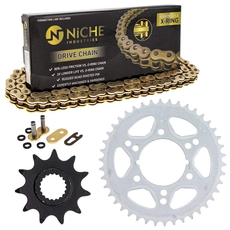 Drive Chain and Sprocket Kit for zOTHER Trail-Boss Big-Boss 519-KCS1361K-K001 NICHE MK1004889