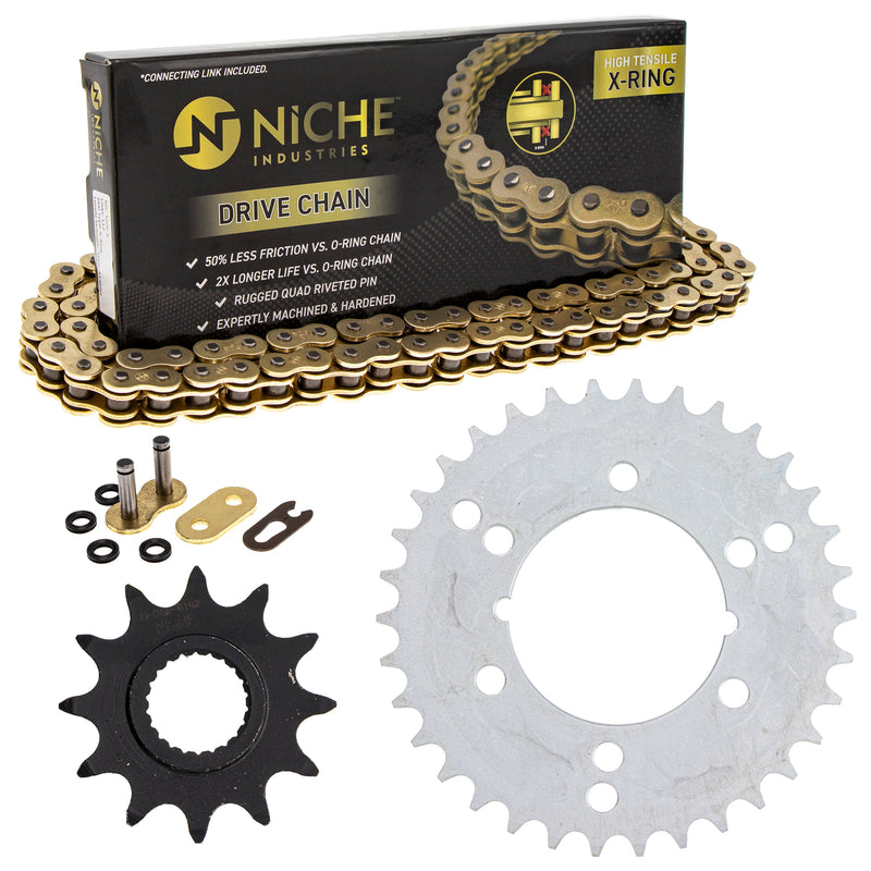 Drive Chain and Sprocket Kit for zOTHER Trail-Boss Sportsman Sport 400L NICHE MK5206402