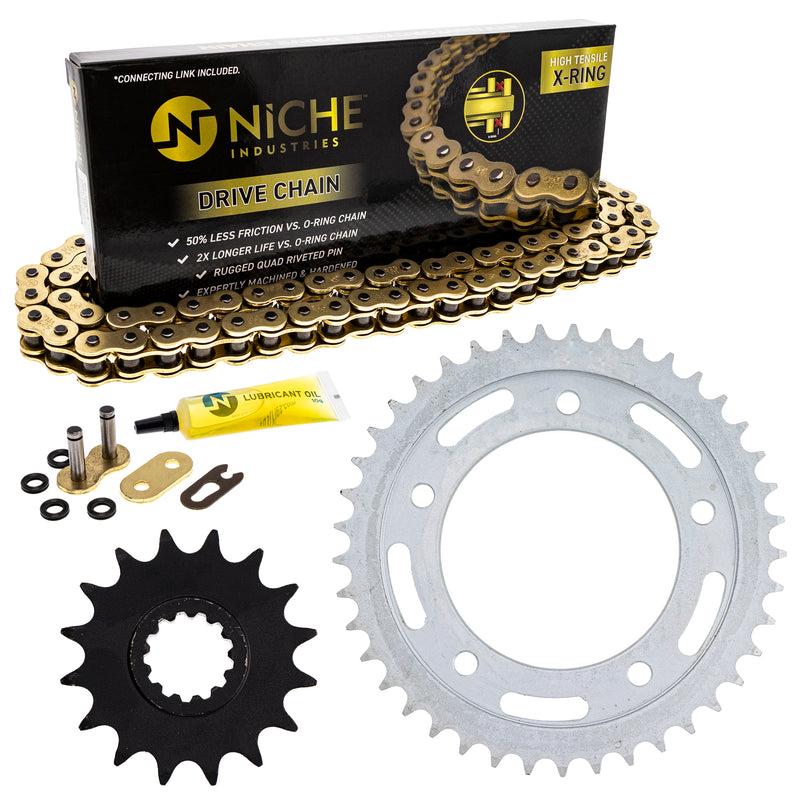 Drive Chain and Sprocket Kit for 251921795 251909619 243812718 243811303 235008914 NICHE MK52511403