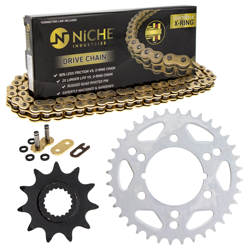 Drive Chain and Sprocket Kit for zOTHER Scrambler 519-KCS1399K-K001 NICHE MK1004927