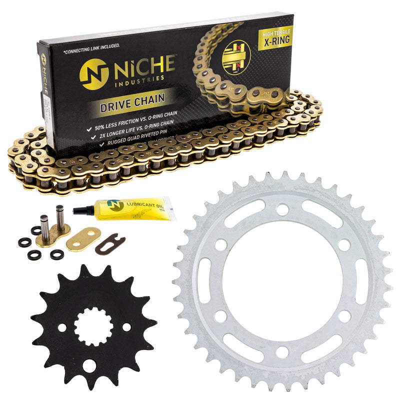 Drive Chain and Sprocket Kit for 110826967 Ninja NICHE MK53010201
