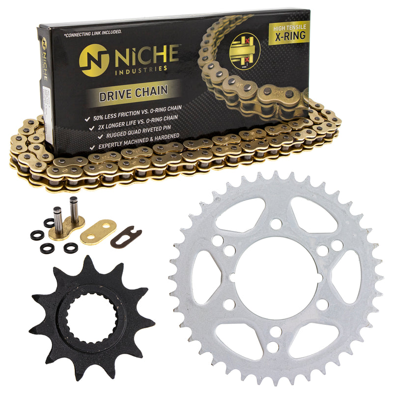 Drive Chain and Sprocket Kit for zOTHER Trail-Boss Trail-Blazer 519-KCS1432K-K001 NICHE MK1004960