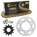 Drive Chain and Sprocket Kit for Polaris Magnum 519-KCS1434K-K001 NICHE MK1004962