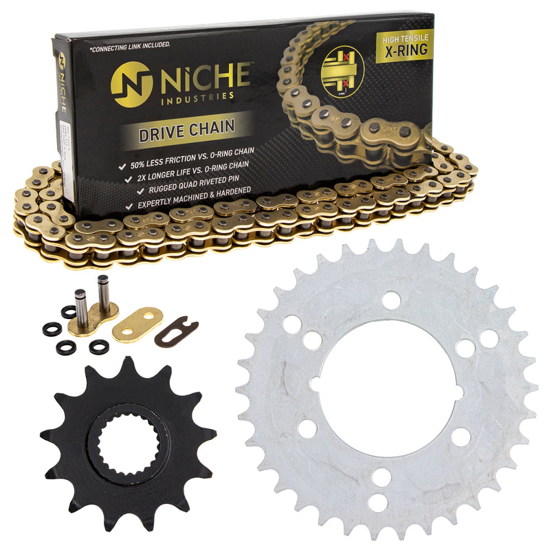 Drive Chain and Sprocket Kit for zOTHER Xpress Trail-Boss Trail-Blazer 519-KCS1435K-K001 NICHE MK1004963