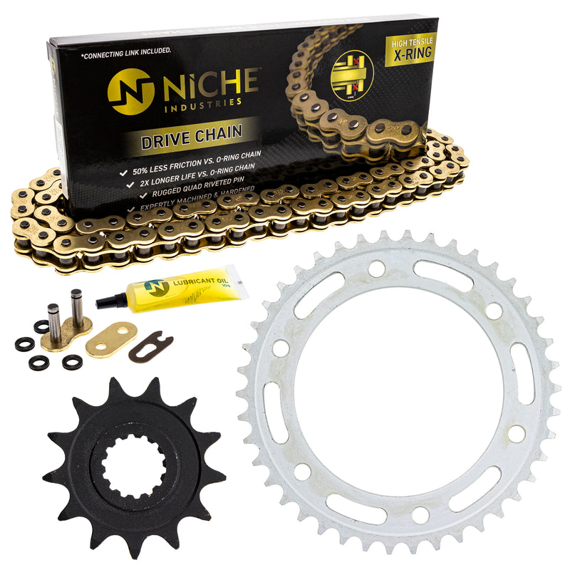 Drive Chain and Sprocket Kit for 144832213 144830190 144829160 144817457 144790076 NICHE MK52511602