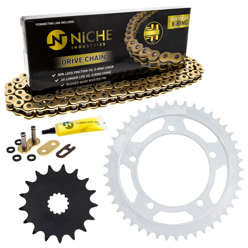 Drive Chain and Sprocket Kit for zOTHER GSXR750 519-KCS1449K-K001 NICHE MK1004977