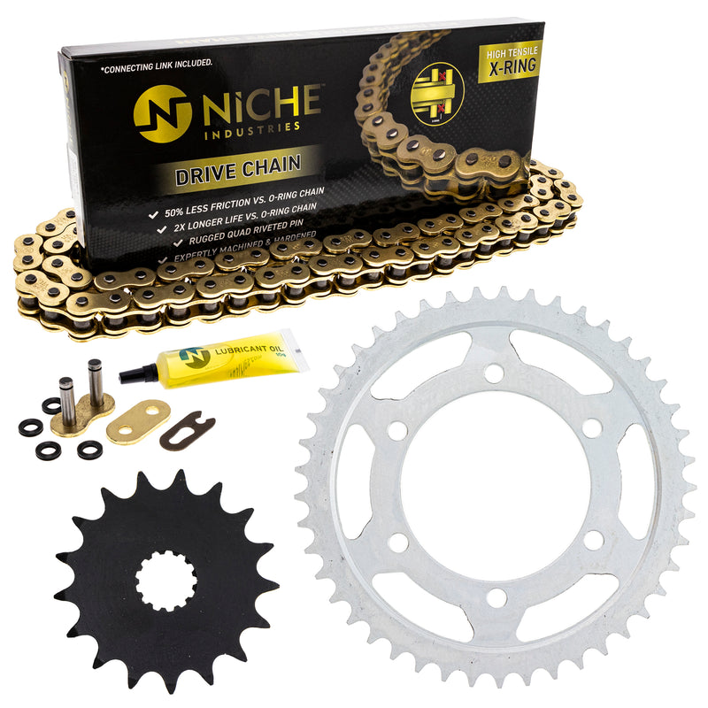 Drive Chain and Sprocket Kit for zOTHER 519-KCS1450K-K001 NICHE MK1004978