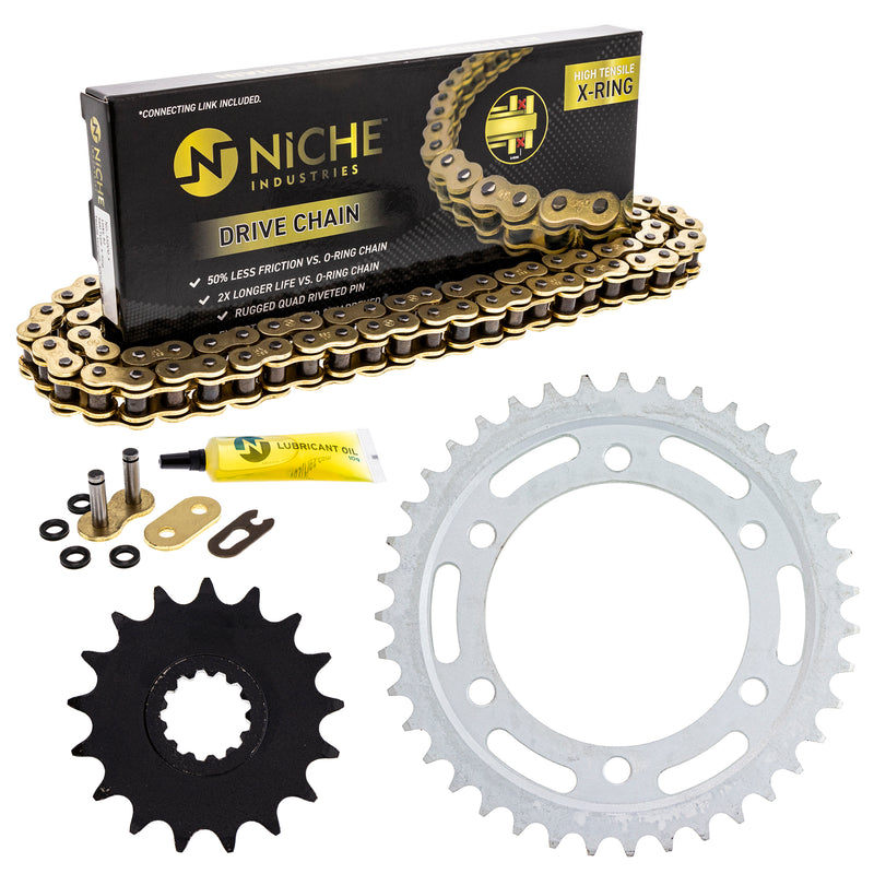 Drive Chain and Sprocket Kit for zOTHER 519-KCS1463K-K001 NICHE MK1004991