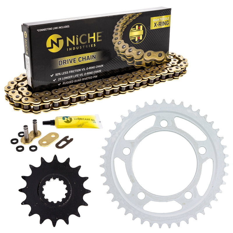 Drive Chain and Sprocket Kit for zOTHER CB900F 519-KCS1466K-K001 NICHE MK1004994