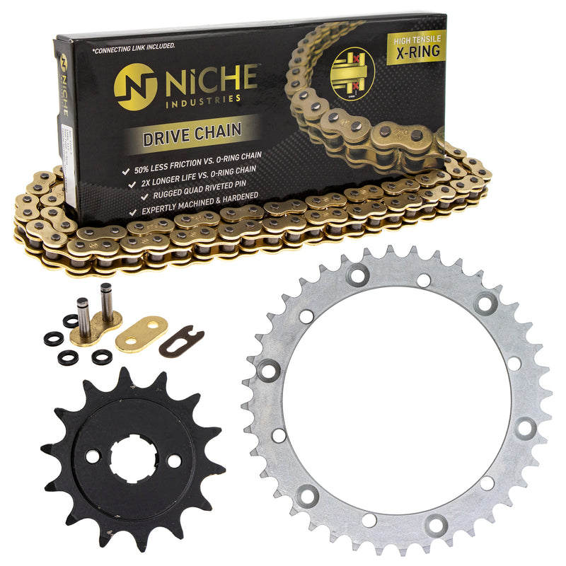 Drive Chain and Sprocket Kit for 519-KCS1470K-K001 NICHE MK1004998
