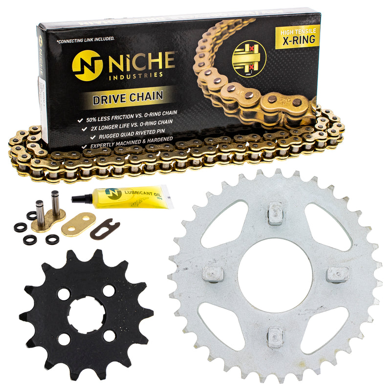 Drive Chain and Sprocket Kit for zOTHER Honda Z50RD Z50R NSR50 NS50F 40530-181-952 NICHE MK1005012