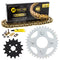 Drive Chain and Sprocket Kit for zOTHER Kawasaki Honda 23800-098-000 92057-1513 NICHE MK1005019