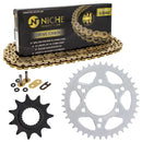 Drive Chain and Sprocket Kit for Polaris 12822591195196 Trail-Boss 519-KCS1547K-K001 NICHE MK1005075