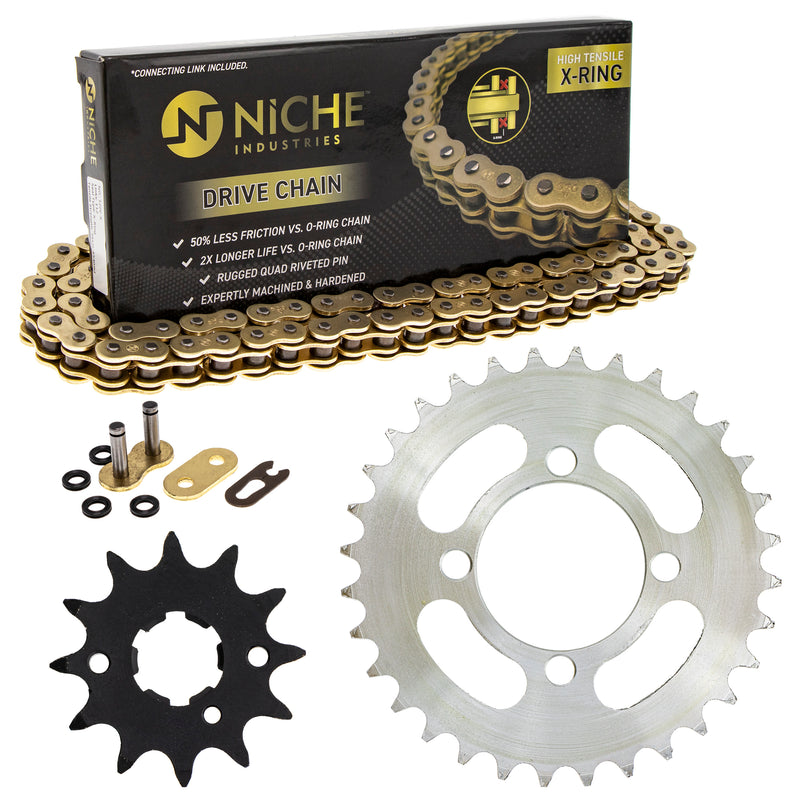 Drive Chain and Sprocket Kit for 203810428 203809358 203809118 203803418 203766420 NICHE MK5207401