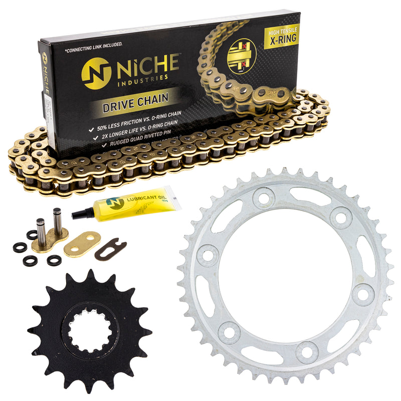 Drive Chain and Sprocket Kit for zOTHER CBR1000RR 519-KCS1569K-K001 NICHE MK1005097