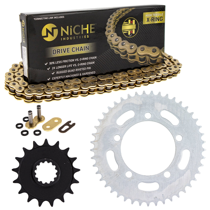Drive Chain and Sprocket Kit for zOTHER S1000XR 519-KCS1572K-K001 NICHE MK1005100