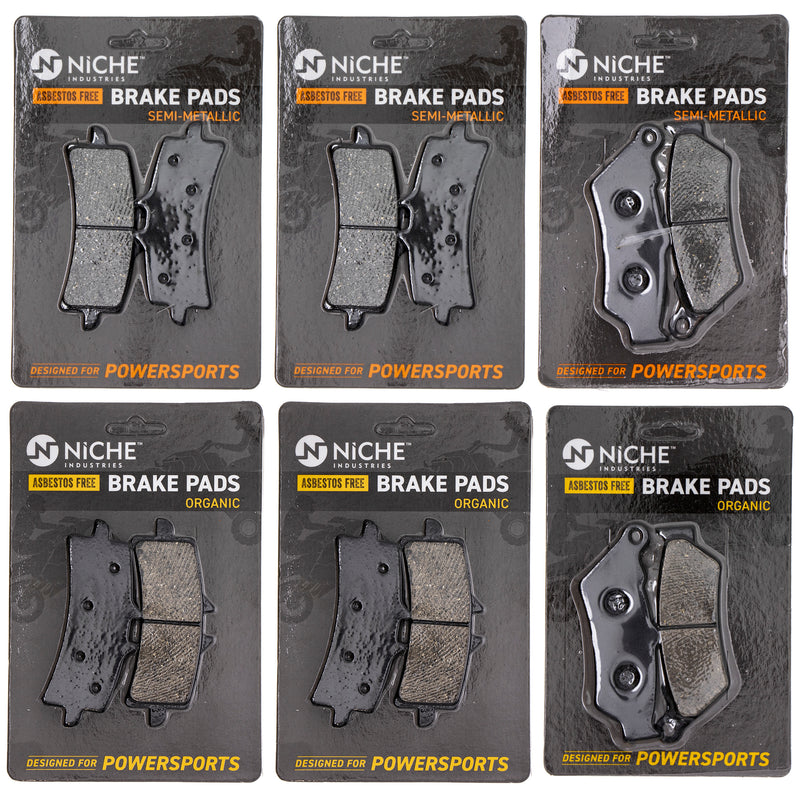 Brake Pad Set for Ducati XDiavel Diavel 61340941A 61341101A 61340901A NICHE MK1173PAD