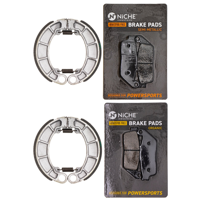 Brake Pad Set for zOTHER Honda Shadow 06430-HN0-A20 06455-MW3-406 06455-MW3-415 NICHE MK1179PAD