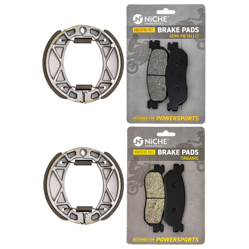 Brake Pad Set for Yamaha XT225 TW200 4BE-W253E-00-00 4KN-W253E-11-00 3C5-25805-00-00 NICHE MK1196PAD