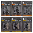 Brake Pad Set for Honda Goldwing 45106-MT8-305 06435-MT8-405 06455-MT8-405 NICHE MK1225PAD