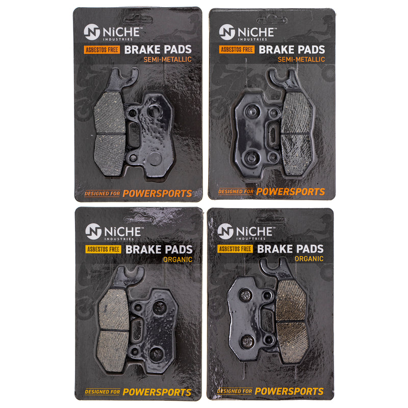 Brake Pad Set for Triumph Sprint Speed Daytona Bonneville T2020072 2020071-T0301 NICHE MK1235PAD