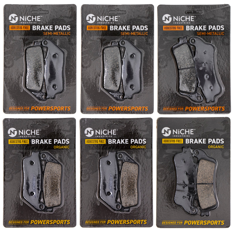 Brake Pad Set for zOTHER Honda ST1100 45105-ML7-405 06455-MAJ-G41 NICHE MK1239PAD