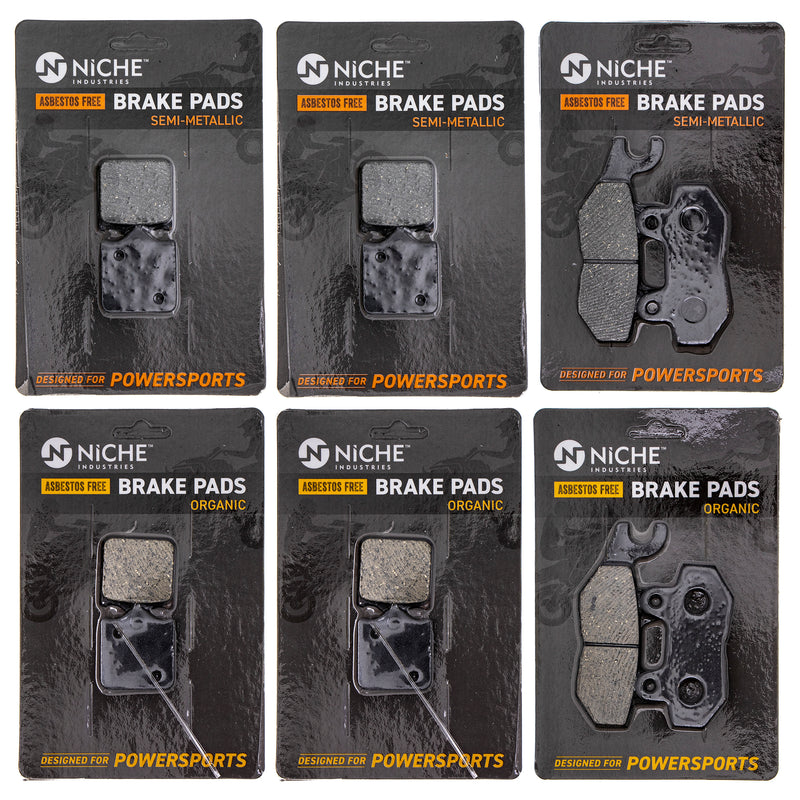Brake Pad Set for Triumph Speed T2025247 T2020555 NICHE MK1247PAD