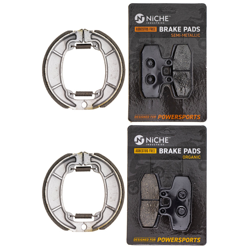 Brake Pad Set for zOTHER Honda Rebel CMX250C 06430-GBJ-740 06455-KEB-902 431A2-429-010 NICHE MK1253PAD