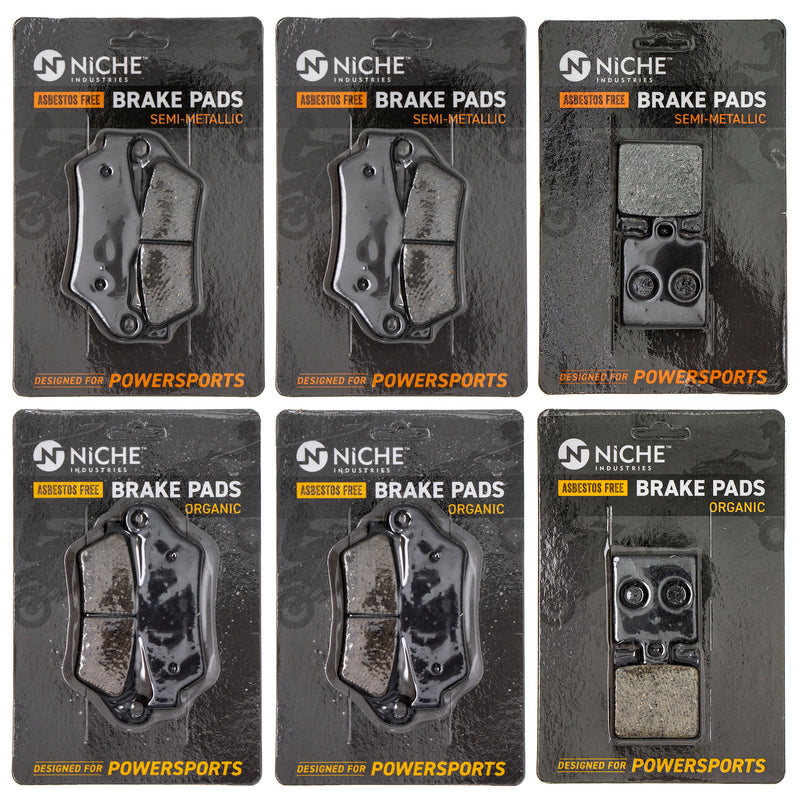 Brake Pad Set for zOTHER Multistrada Monster 61340731A 61340721A 61340541A NICHE MK1267PAD