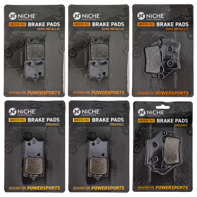 Brake Pad Set for KTM 990 61013030000 50313090000 NICHE MK1269PAD