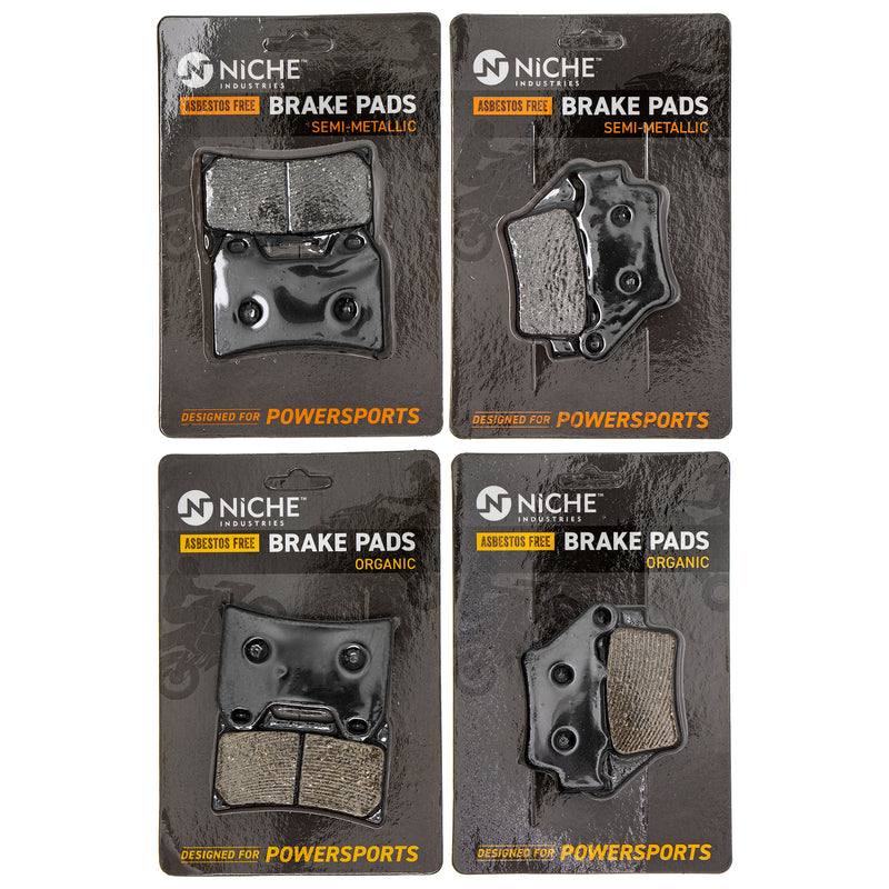 Brake Pad Set for KTM 660 625 59013090000 58713030000 NICHE MK1285PAD