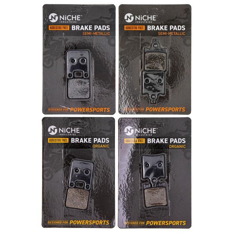 Brake Pad Set for KTM 65 60 46013090000 46013016000 NICHE MK1286PAD