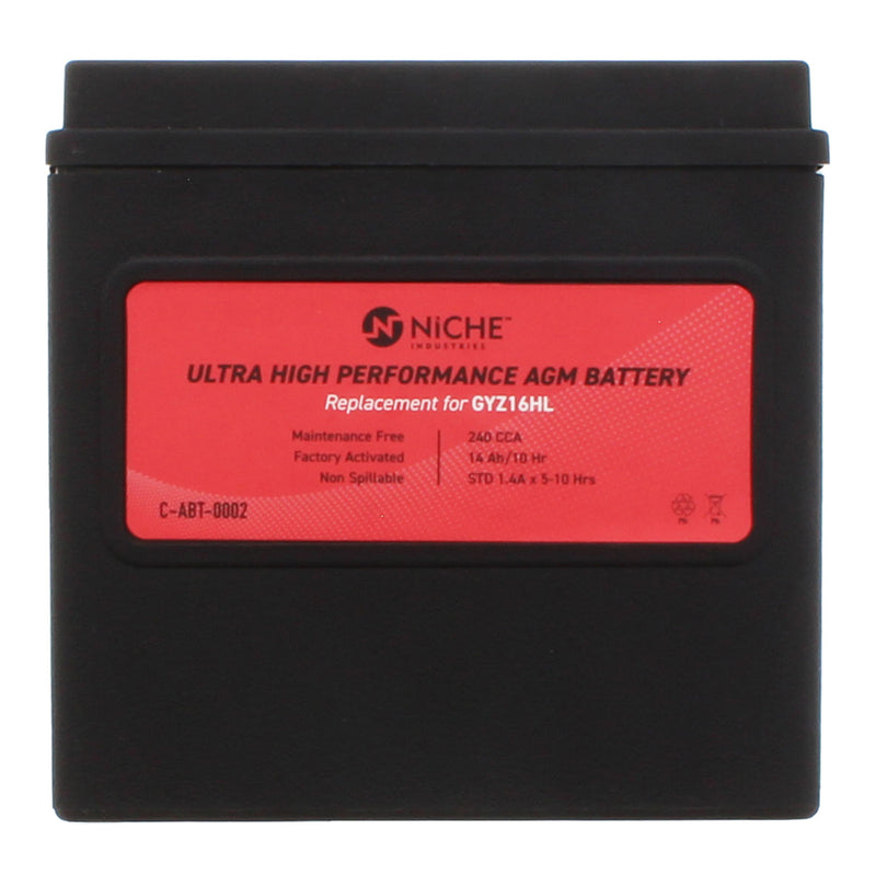 NICHE 519-CAB2224T Maintenance Free Battery
