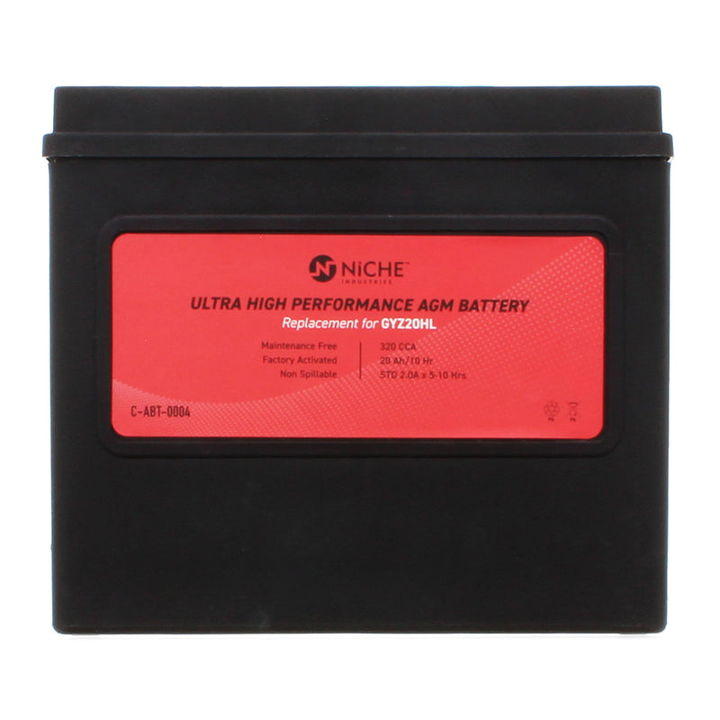 NICHE 519-CAB2226T Maintenance Free Battery
