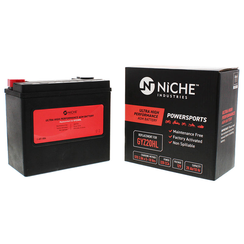 NICHE Sealed AGM Battery High Performance Harley Davidson CVO FXD