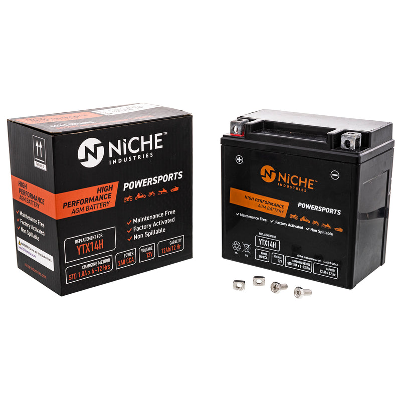 NICHE 519-CAB2265T Maintenance Free Battery